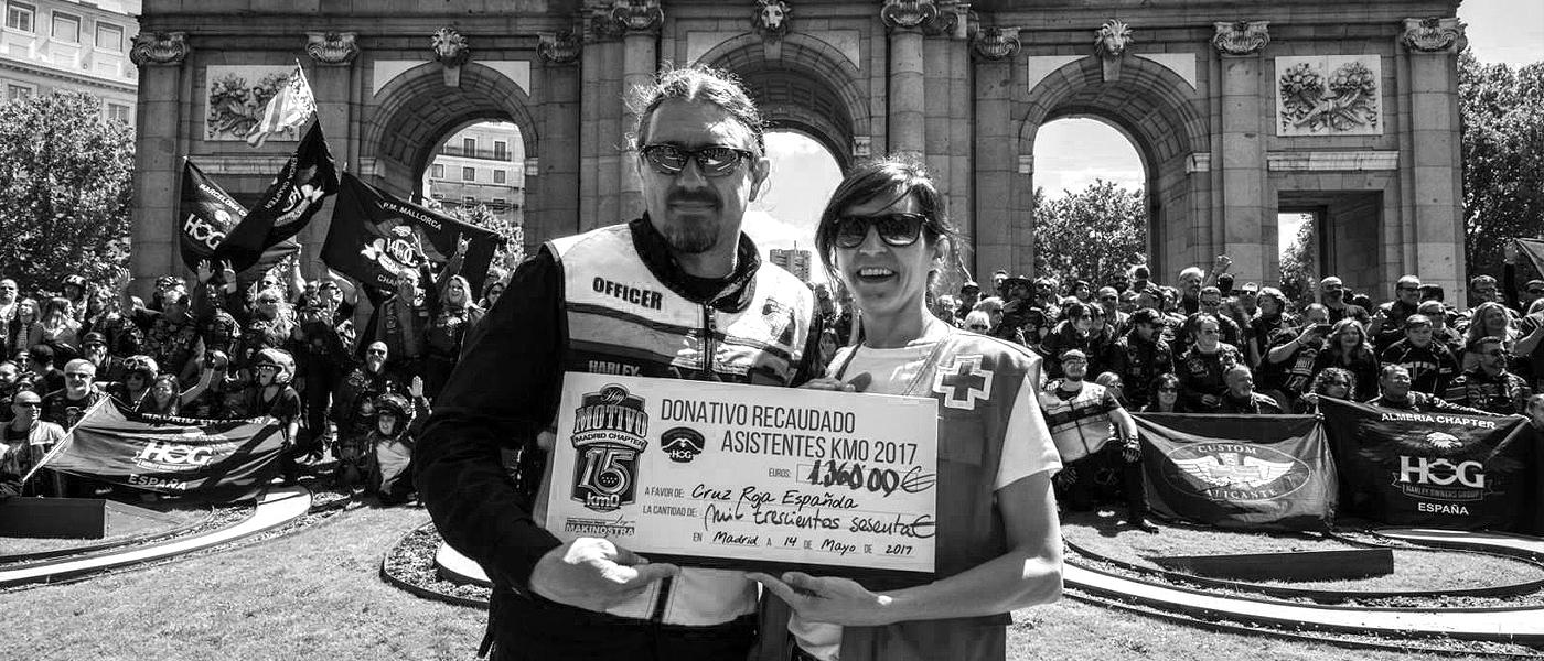 Entrega donativo 1.360€ a Cruz Roja