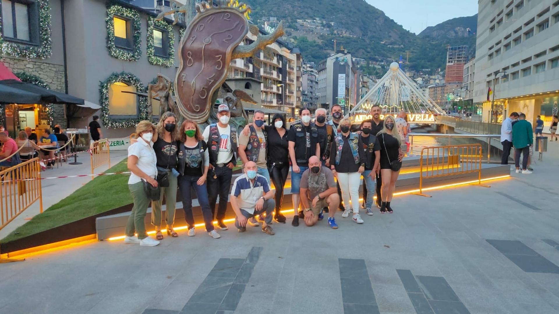 Asistentes al Custom Mountain Festival en Andorra